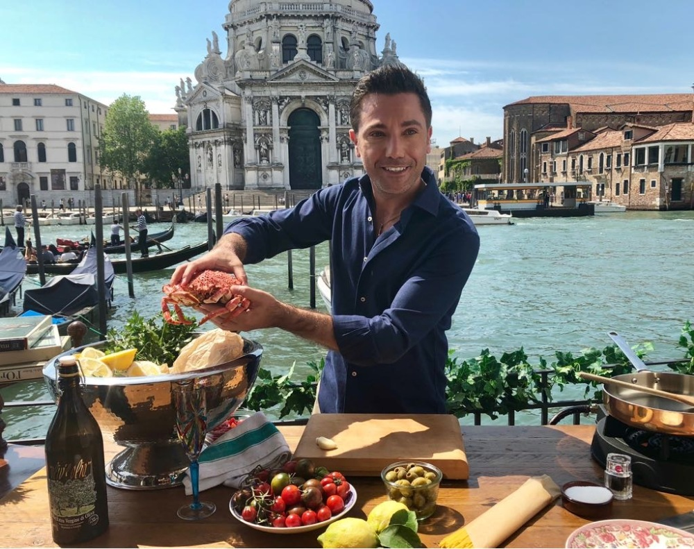 gino d'acampo venice food photo